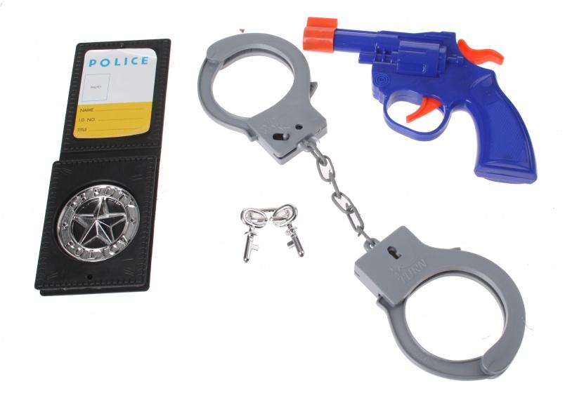 Eddy Toys police speelset 4 delig