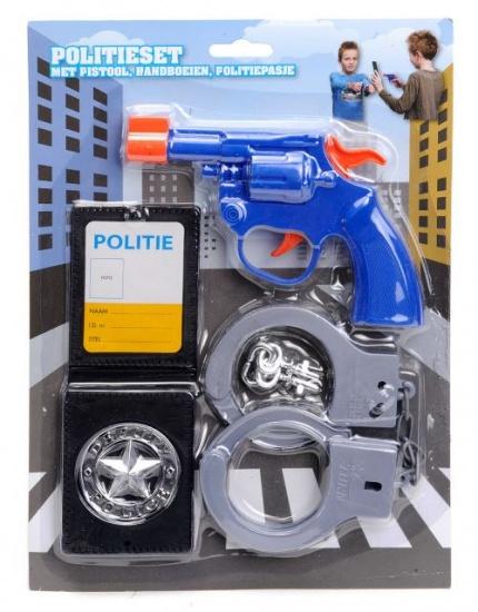 Eddy Toys Politie speelset 3 delig