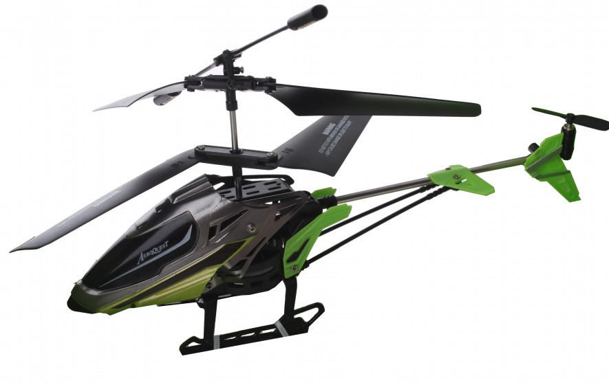 Eddy Toys RC helikopter groen kunststof 21 cm