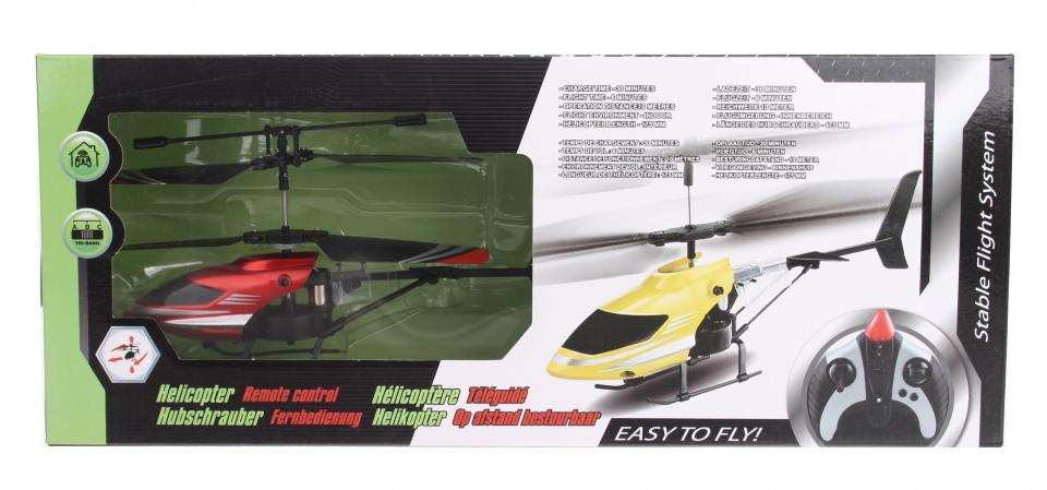 Eddy Toys RC helikopter rood kunststof 17 cm