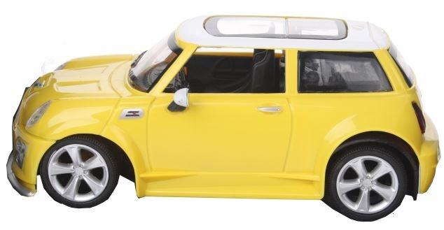 Eddy Toys RC Mini Cooper 1:24 16.5 cm geel