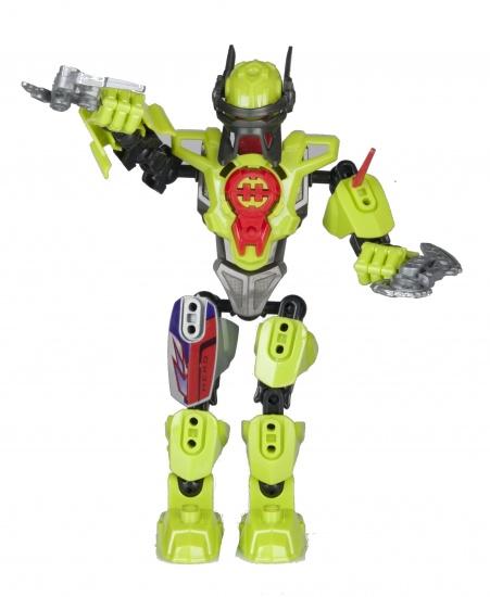 Eddy Toys Robot Roboter Groen 19 cm