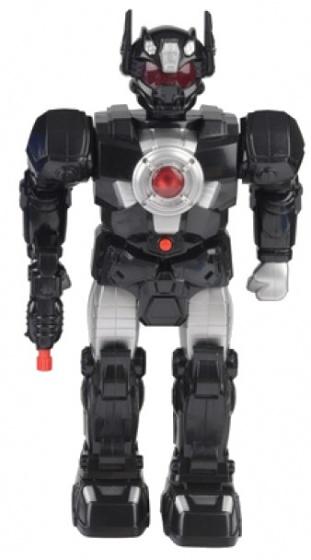 Eddy Toys robot speelfiguur zwart 38 cm