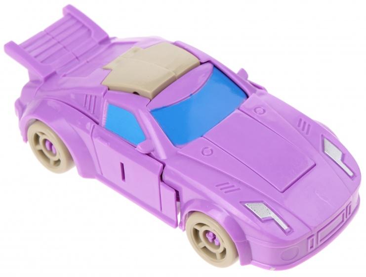 Eddy Toys Robot Transformer Car Purple 10 Cm Internet Toys