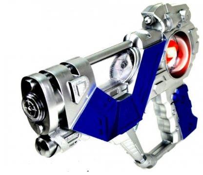 Eddy Toys RuimteGeweer 23 cm zilver blauw