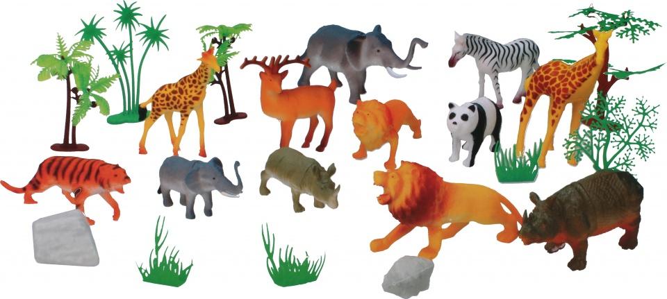 Eddy Toys safaridierenset 22 delig