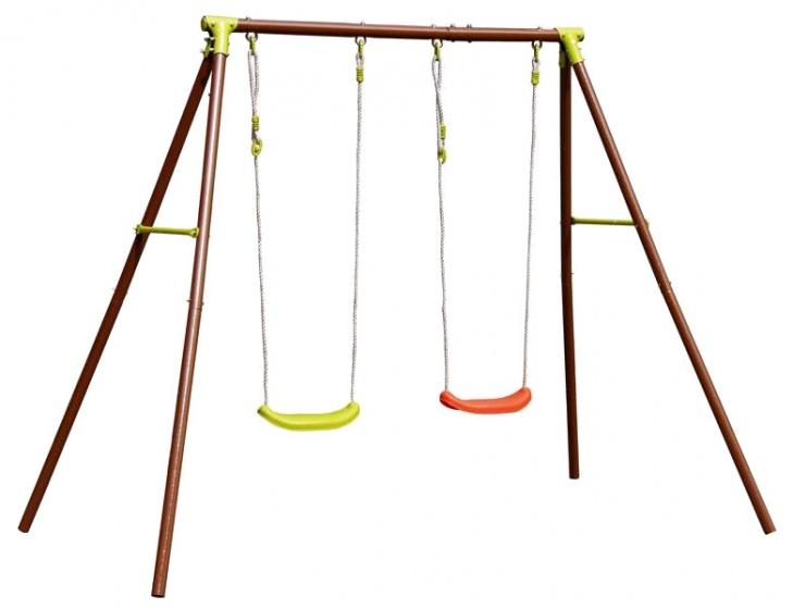 Eddy Toys schommel speeltoestel staal 220 x 155 x 195 cm