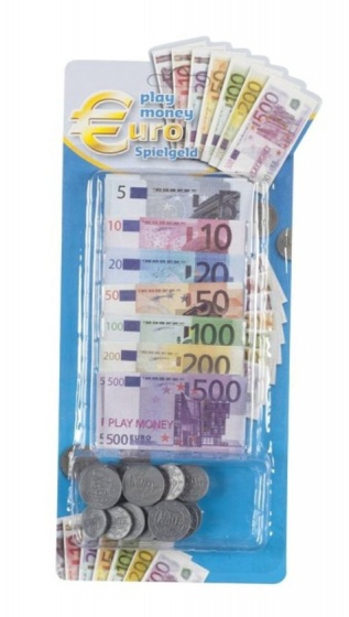 Eddy Toys speelgeld briefjes en munten 90 delig