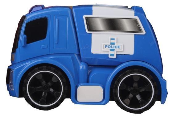 Eddy Toys Speelgoed wagen politie blauw 15 x 10 x 23 cm