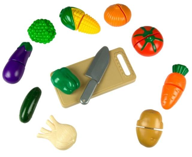 Eddy Toys speelgoedeten groente 20 delig