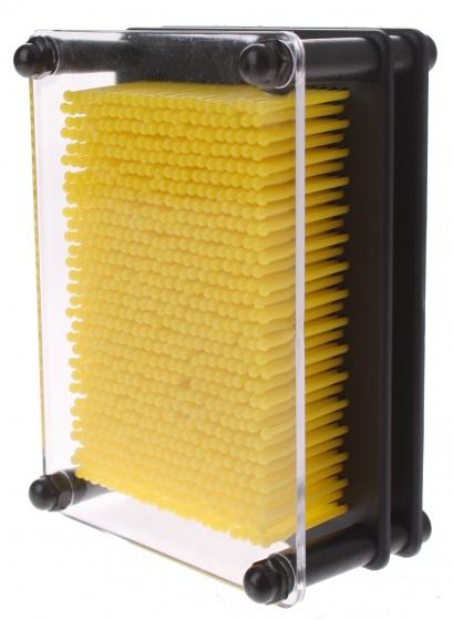 Eddy Toys spijkerkunst 13 x 10 cm geel