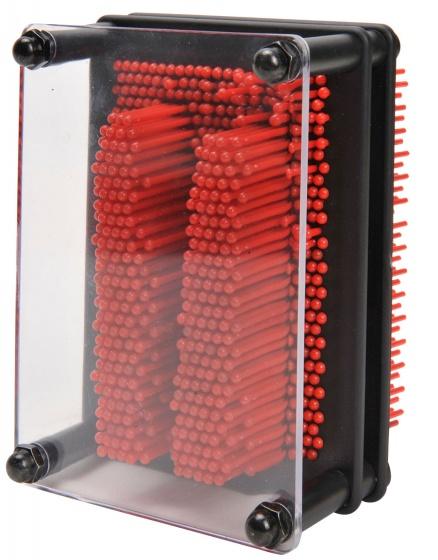 Eddy Toys spijkerkunst 13 x 10 cm rood