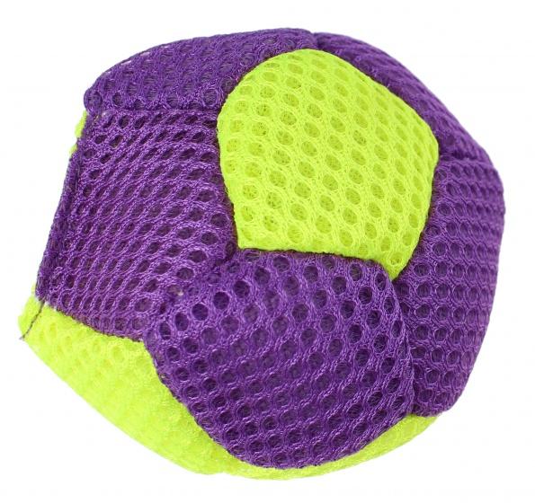 Eddy Toys splash bal 6,5 cm blauw/geel