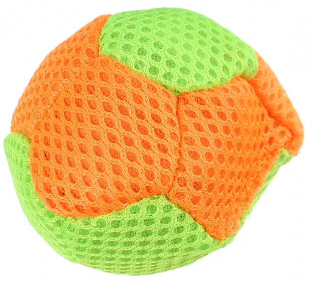 Eddy Toys splash bal 6,5 cm groen/oranje
