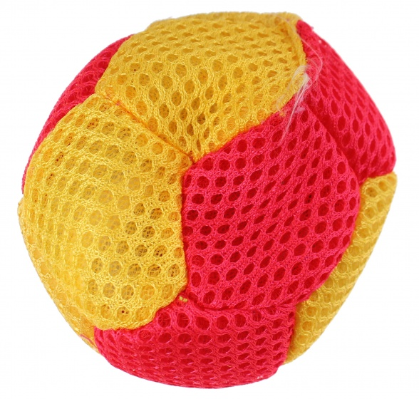 Eddy Toys splash bal 6,5 cm roze/geel