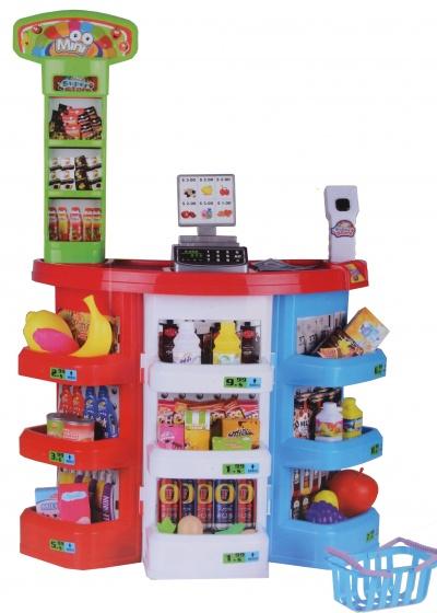 Eddy Toys supermarkt kunststof 51 x 27 x 28 cm 38 delig