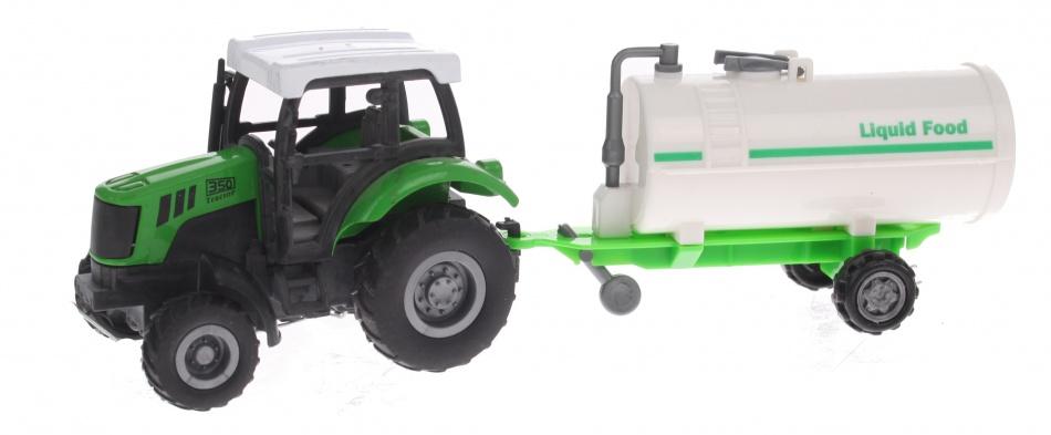 Eddy Toys Tractor met Gierton