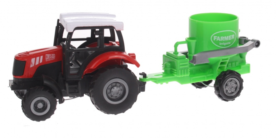 Eddy Toys Tractor met Mestverspreider