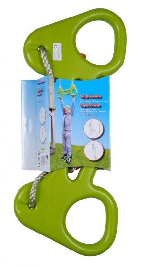 Eddy Toys Trapeze schommel groen 58.5 x 24 x 3.5 cm