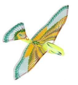 Eddy Toys Vliegende Vogel Groen 26 cm