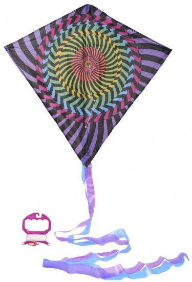 Eddy Toys Vlieger cirkel 63,5 x 69 cm