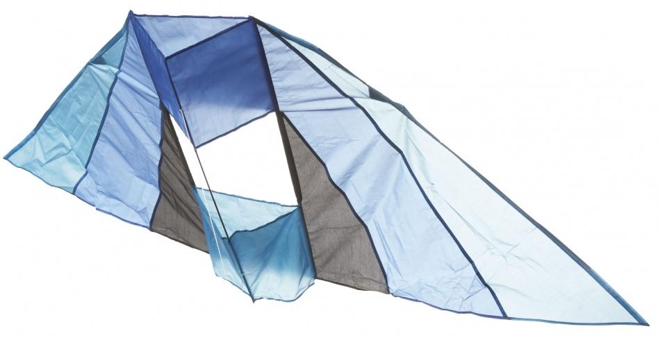 Eddy Toys Vlieger zwart/blauw 183 x 81 cm