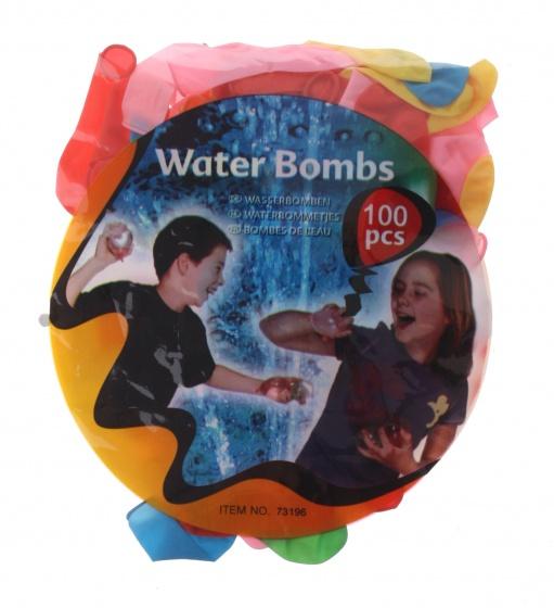 Eddy Toys waterballonnen 100 stuks