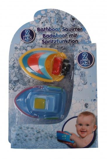 Eddy Toys Waterboot 4 x 6 x 9 cm geel/blauw