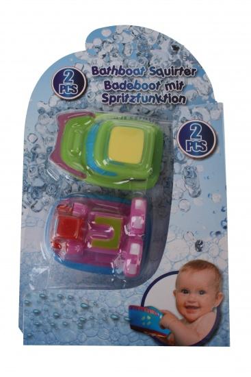 Eddy Toys Waterboot 4 x 6 x 9 cm groen/roze