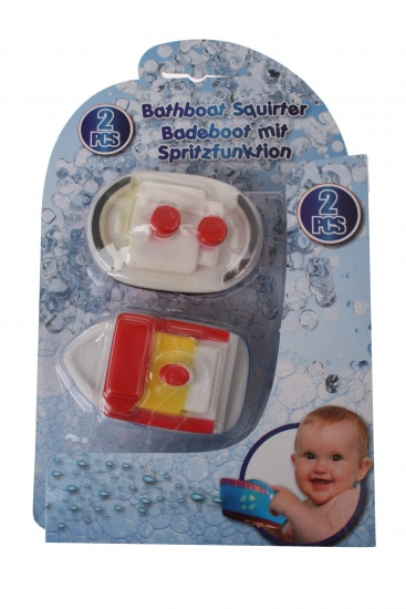 Eddy Toys Waterboot 4 x 6 x 9 cm rood/wit