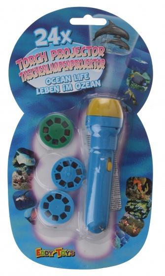 Eddy Toys viewmaster zeedieren 11 cm 4 delig