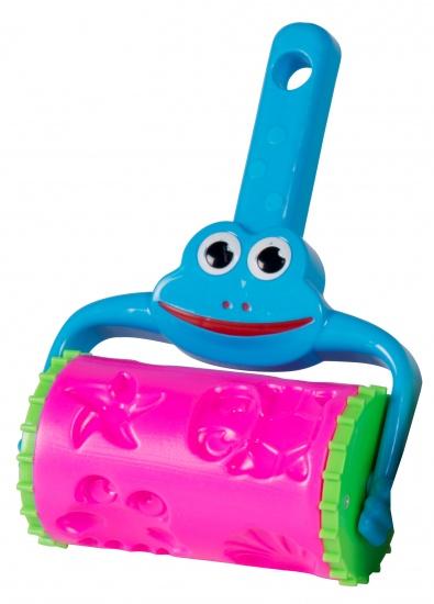 Eddy Toys Zandroller 22,5 x 16 cm kunststof blauw/roze