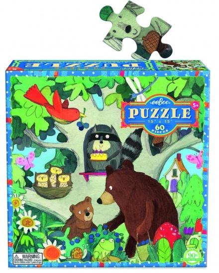 Eeboo Puzzel Birthday Tree 64 Stukjes