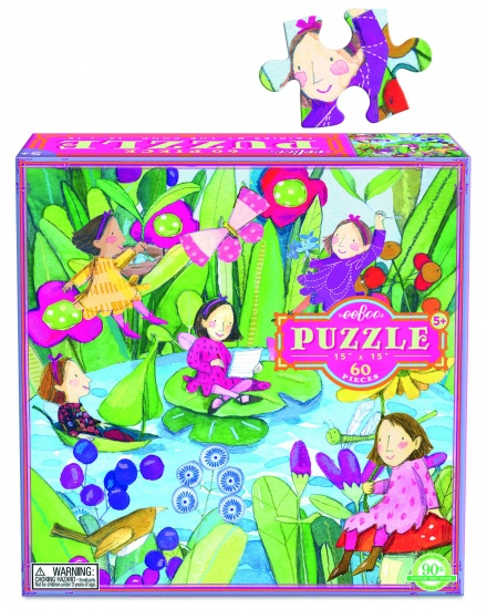 Eeboo Puzzel Fairies BY The Pond 60 Stukjes