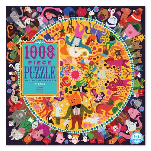 Eeboo Puzzel Familie: circus 1008 stukjes