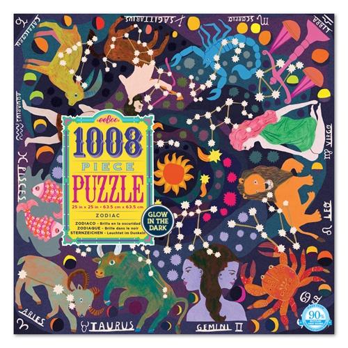 Eeboo Puzzel Familie: dierenriem 1008 stukjes