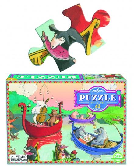 Eeboo Puzzel Party On The Lake 42 Stukjes