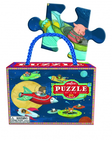 Eeboo Puzzel Up And Away 20 Stukjes