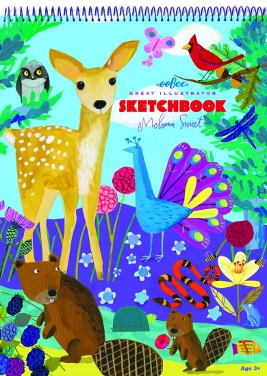 Eeboo Schetsboek Leven Op Aarde