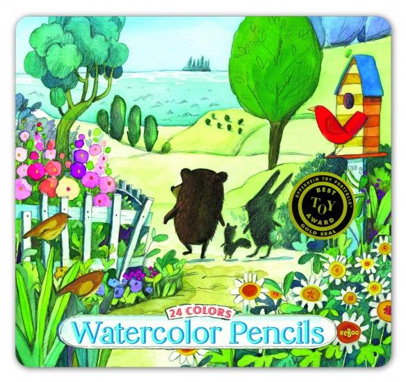 Eeboo Watercolor Potloden ZEE Aanzicht