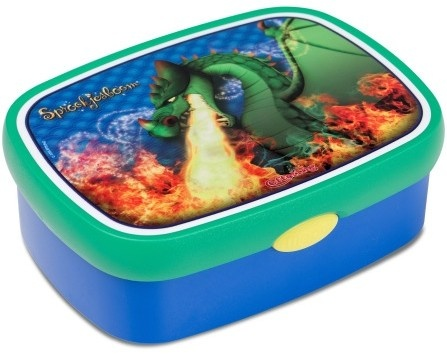 Efteling Lunchbox Draak Mepal Blauw