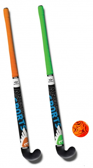 Angel Sports Hockeyset Met 2 Sticks Van 30 Inch