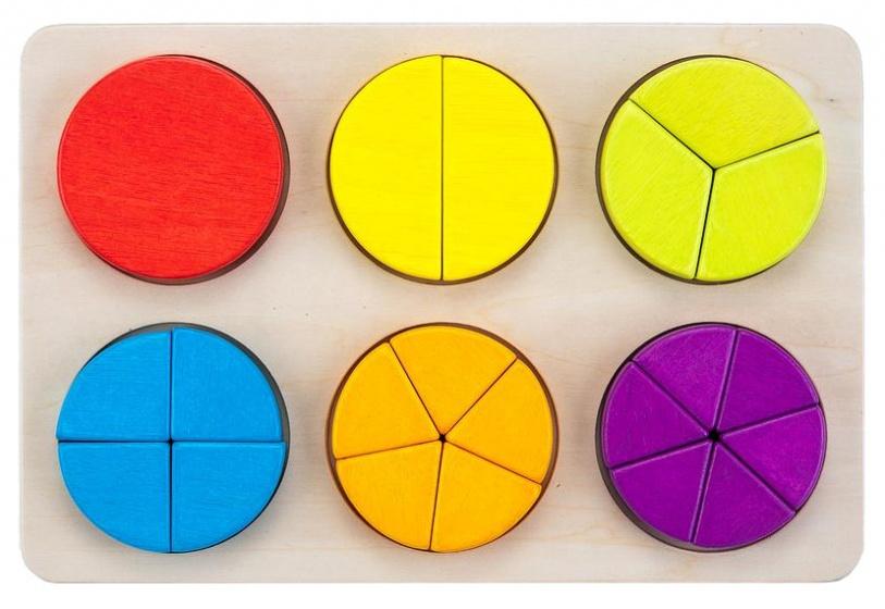 Engelhart leerspel geometrische partjes 30 cm