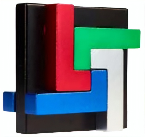 Eureka 3D Puzzle Breinbreker puzzel in blik