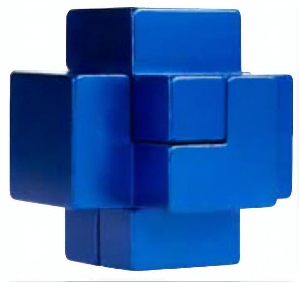 Eureka 3D Puzzle Breinbreker puzzel in blik blauw