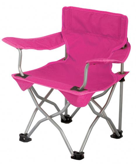 Eurotrail campingstoel Ardeche 54 x 35 cm PE-staal roze