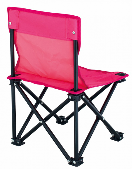 high chair Lille47 x 30 cm polyester/steel pink