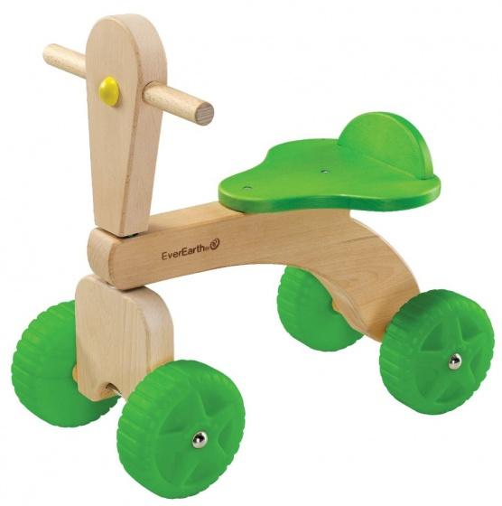 EverEarth® loopdriewieler van hout, Driewieler