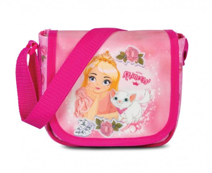 Fabrizio Prinsessen schoudertasje 1,5 liter roze