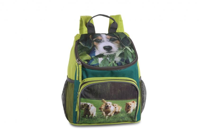 Fabrizio rugzak honden 11,5 liter groen